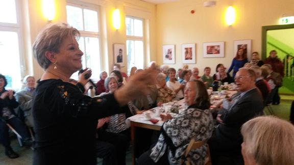 Dagmar Frederic bei der Festveranstaltung zum Internationalen Frauentag